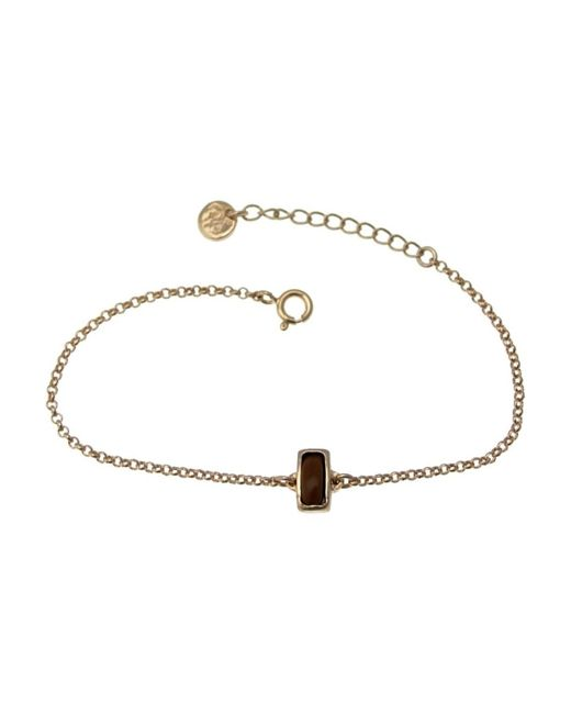 Bra 01 bracelet Bracelets Lili La Pie en coloris Brown
