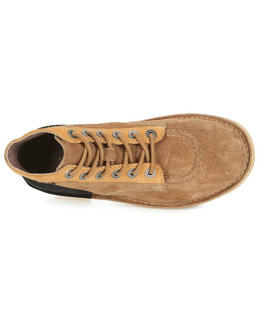 8307a3c03e8609 ... Kickers - Natural ORILEGEND femmes Boots en Beige - Lyst ...
