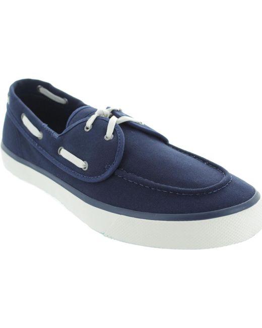 Sperry Top-Sider - Captain's 2-eye Men's Boat Shoes In Blue for Men - Lyst