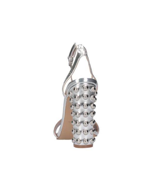 Sandales SMSARIANNA-SIL Steve Madden en coloris Metallic