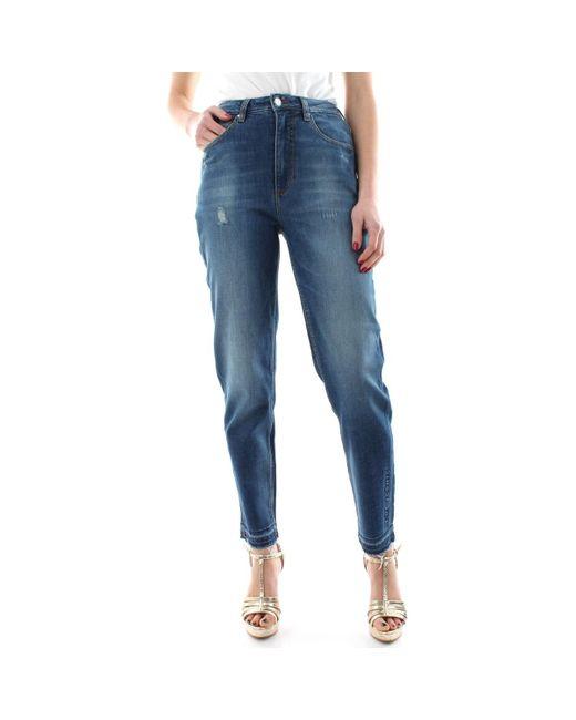 MOM W1RA21 D46A4 Jeans Guess en coloris Blue