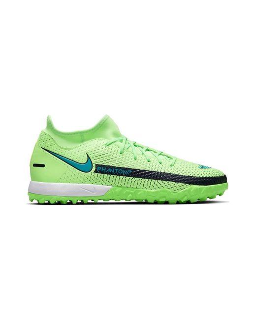 Phantom GT Academy DF TF Nike de hombre de color Green