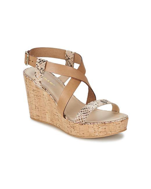 Nome Footwear - Natural Cosseta Women's Sandals In Beige - Lyst