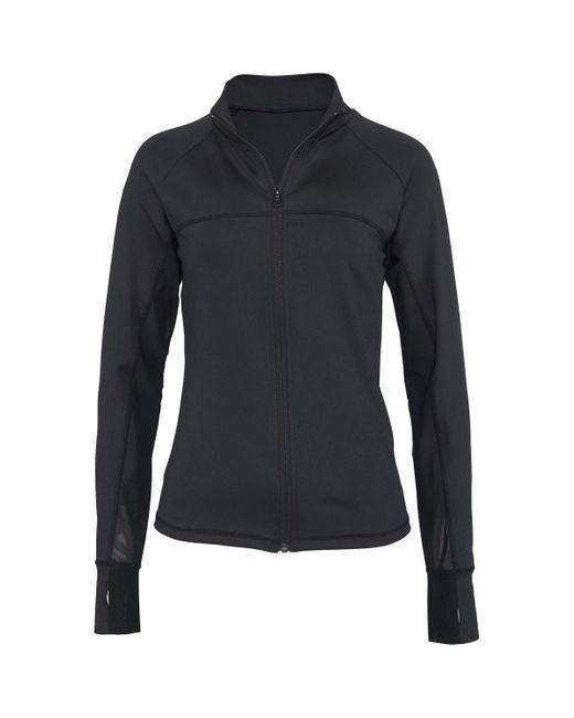 Veste de sport Active Veste Lascana en coloris Black