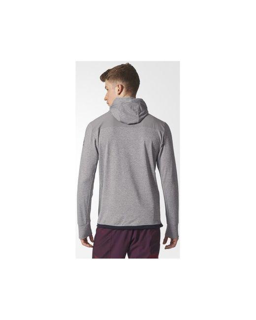 Workout Oth Sweat-shirt Adidas pour homme en coloris Gray
