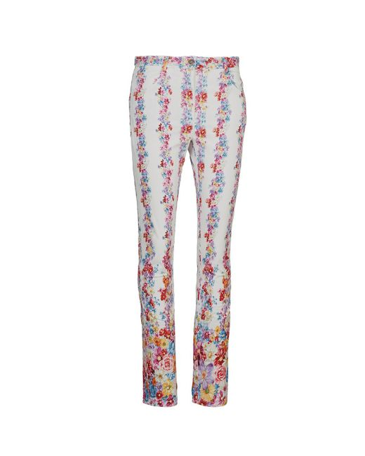 Rene' Derhy - Red Neron Women's Trousers In Multicolour - Lyst