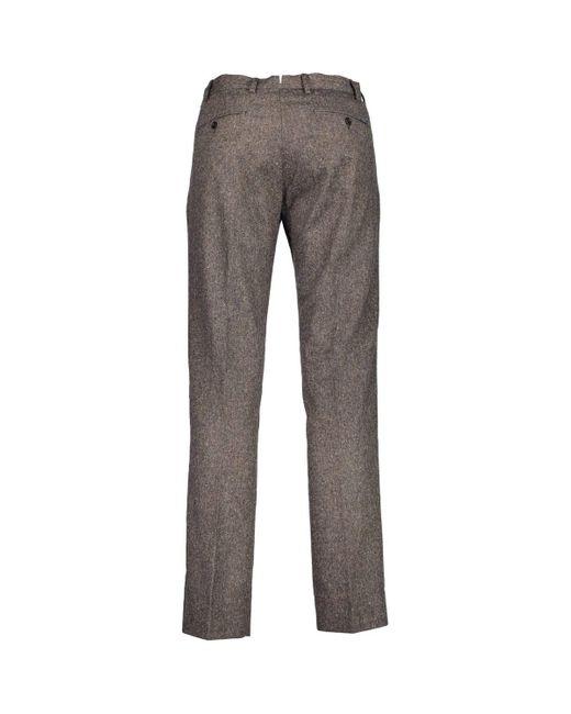 GANT Pantalon 1703.1500133 homme de coloris marron