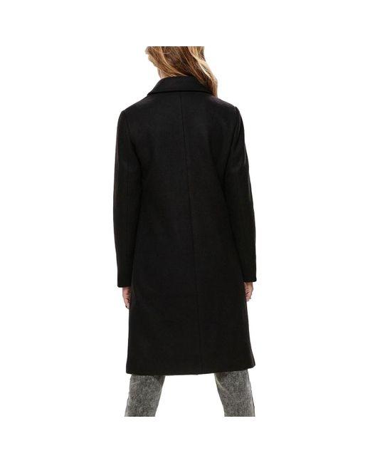ONLLUISA WOOL COAT Manteau ONLY en coloris Black