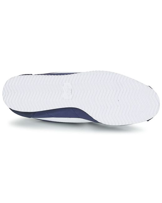 brand new 5a774 ee0b8 ... Nike - Classic Cortez Nylon Men s Shoes (trainers) In Blue for Men -  Lyst