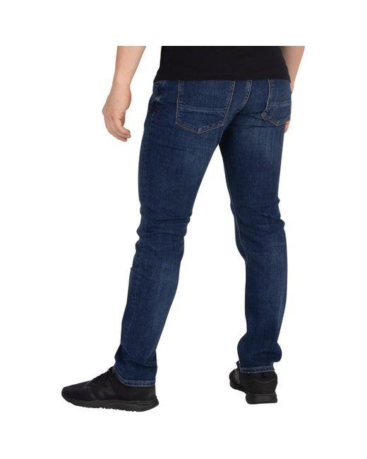 Tommy Hilfiger Mens Core Bleecker Slim Jeans Blue