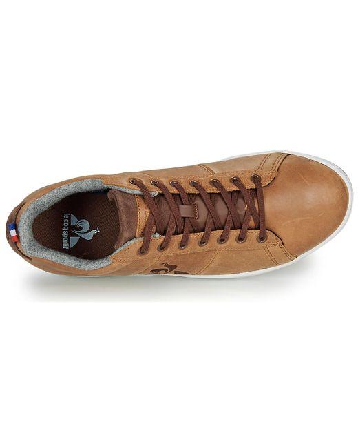 Baskets Le Coq Sportif pour homme en coloris Brown