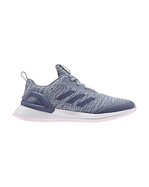 Chaussures Rapidarun X Knit J Adidas en coloris Blue