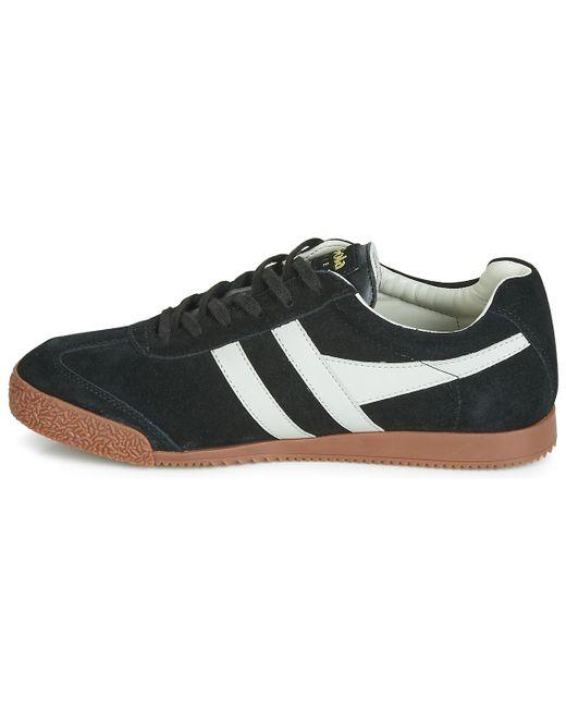 Gola Lage Sneakers Harrier in het Black voor heren