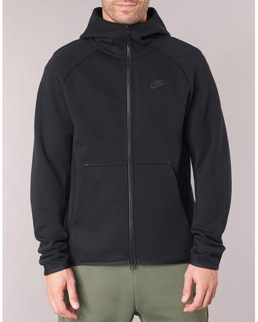TECHFLEECE Sweat-shirt Nike pour homme en coloris Black