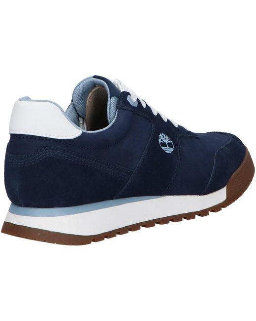 chaussures timberland bleu