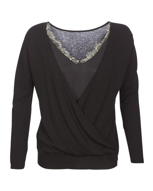 IKKS - Saung Women's Sweater In Black - Lyst