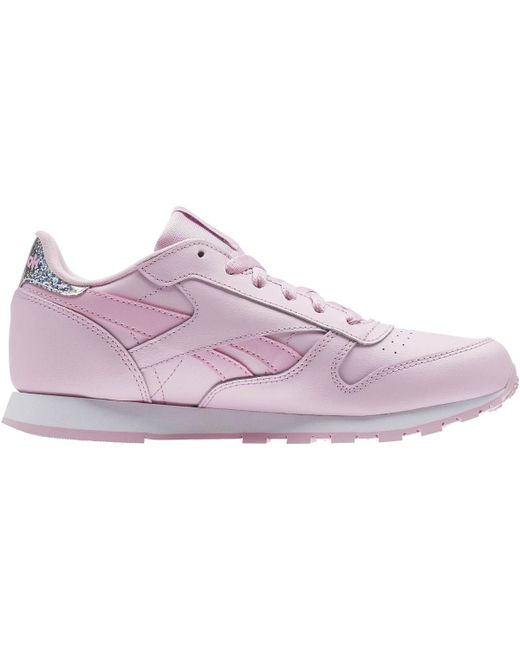 87c807832c3 Reebok - Classic Leather Pastel - Primaria Women s Shoes (trainers) In Pink  ...