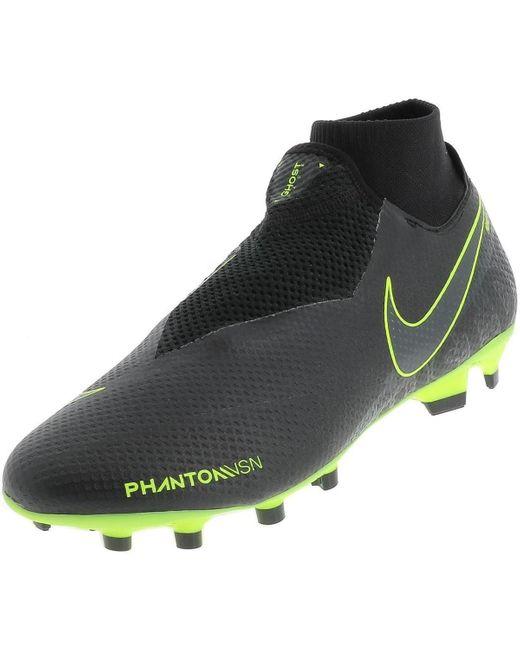 PHANTOM VSN DF FG hommes Chaussures de foot en Noir Nike pour ...