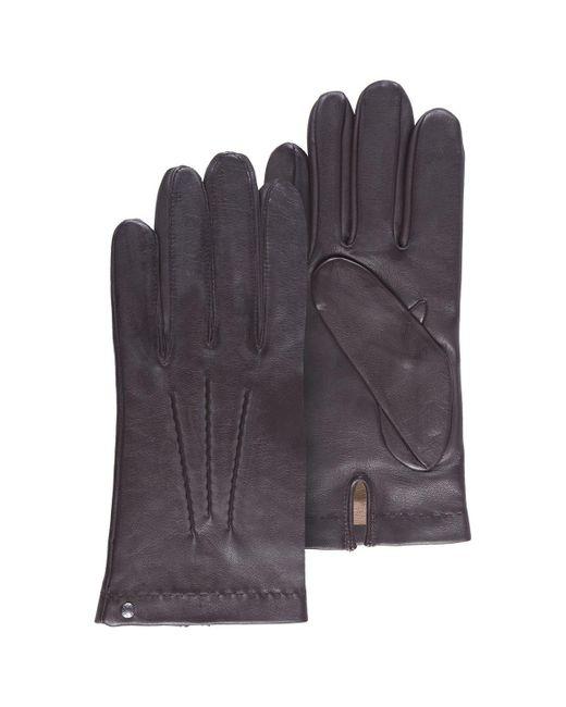 Gants cuir Gants Isotoner pour homme en coloris Black