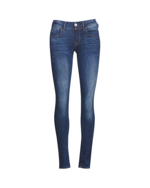 G-Star RAW Blue Slim Fit Jeans LYNN MID SKINNY
