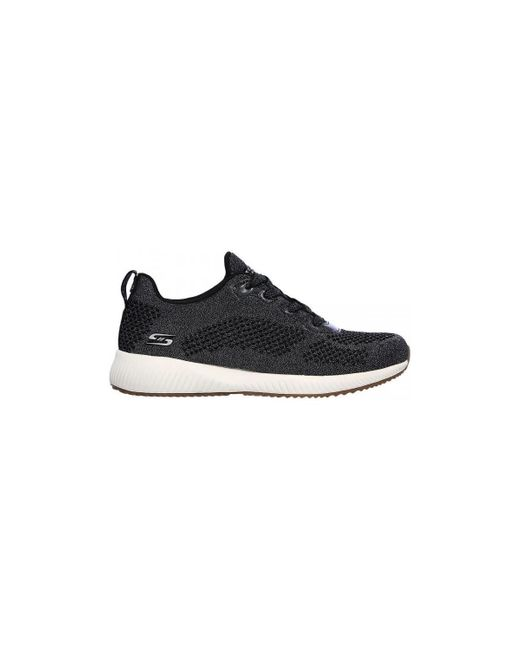 Bobs Squad-Glitz Maker 117006BLK Chaussures Skechers en coloris Black