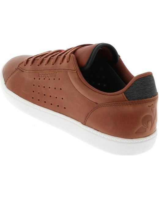 Courstar marron Chaussures Le Coq Sportif pour homme en coloris Brown