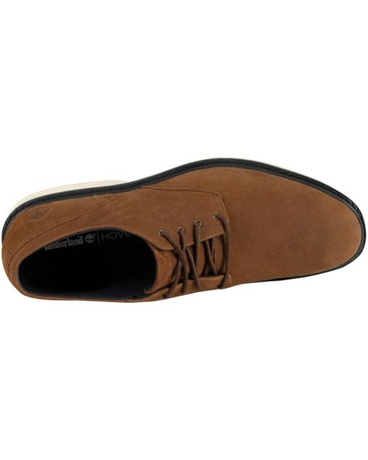 Timberland Men's Sawyer Lane Oxford Leather Shoes, Brown