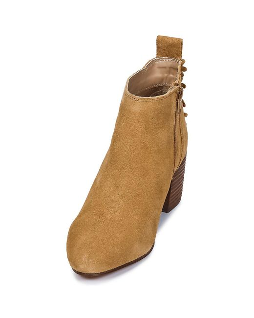 80e971f56c0 ... Esprit - Brown Candy Bootie Low Ankle Boots - Lyst ...