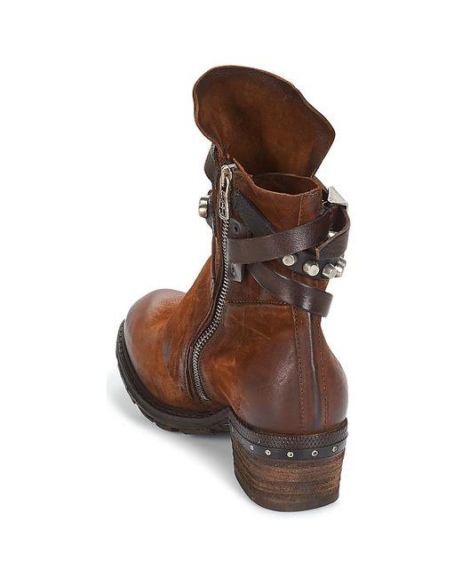 b572f441105 Lyst - CORN 18 femmes Boots en Marron A.S.98 en coloris Marron - 14 ...