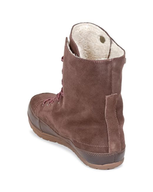 exceptional range of styles and colors most popular detailed images Activist Women's Mid Boots In Brown