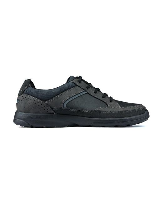 Rockport Black Welker Casual Laceup Shoes Shoes (trainers)