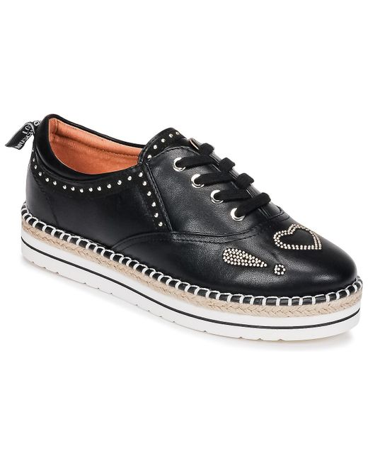 JA10253G05 Chaussures Love Moschino en coloris Black