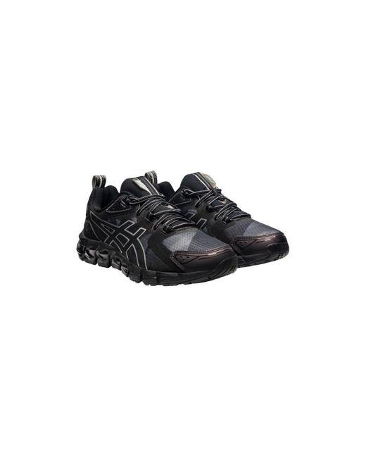 Baskets Homme Gel Quantum 180 Noir/gris Chaussures Asics pour ...