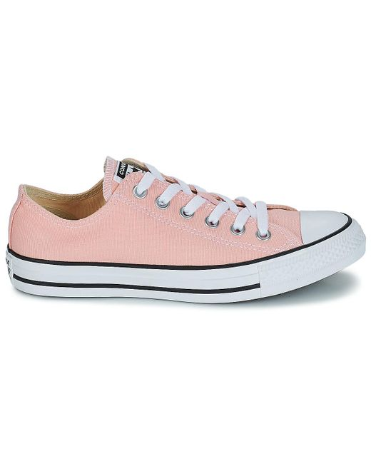 e8e786551383d4 ... Converse - Chuck Taylor All Star Ox Men s Shoes (trainers) In Pink for  Men ...