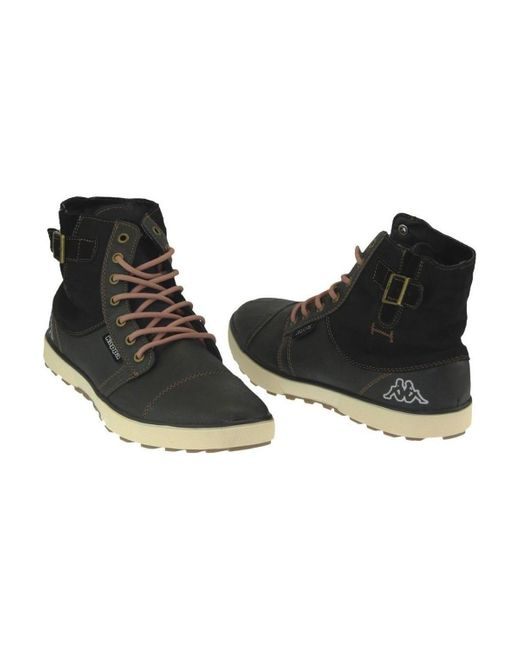 Kappa Brown Metropolis Shoes (high-top Trainers) for men