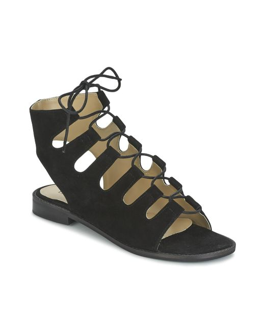 Betty London - Ebitune Women's Sandals In Black - Lyst