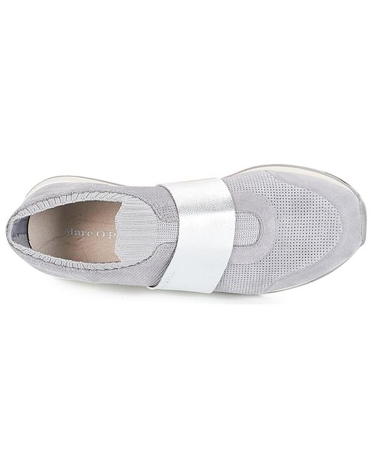 trainers In Grey Gray Pismo Women's Lyst 1a Marc O'Polo Shoes in q1TwxXa