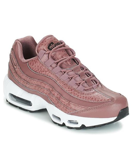 sports shoes 9920d a3b64 Air Max 95 Leather W Women's Shoes (trainers) In Pink