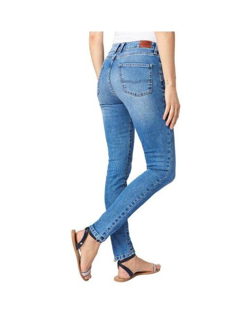 Pepe Jeans Jeans REGENT MF5 femme de coloris bleu