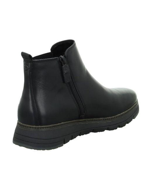 Bottines 112546025003 Tamaris en coloris Black