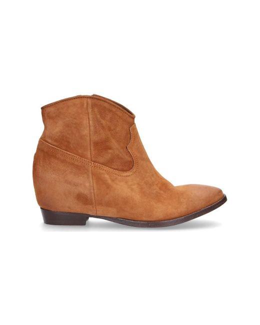 Boots Lemarè en coloris Brown