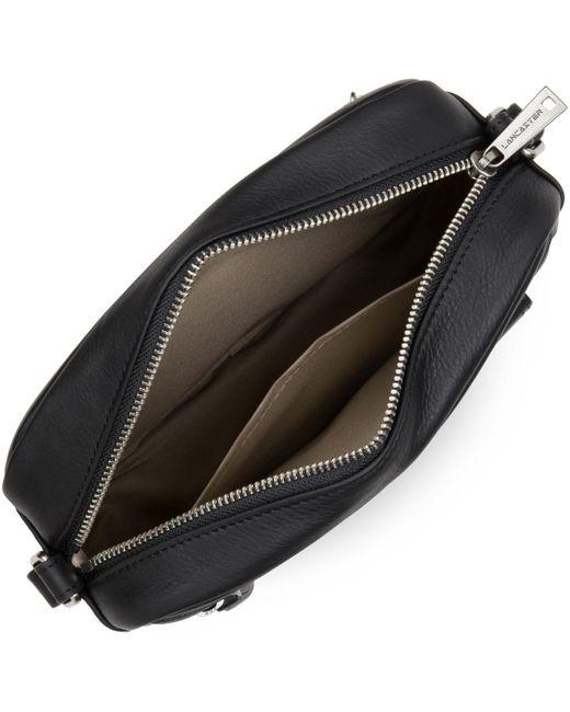 Sac Bandouliere Sacs porté croisé Soft Vintage Lancaster en coloris Black