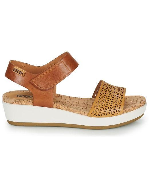Sandales Pikolinos en coloris Brown