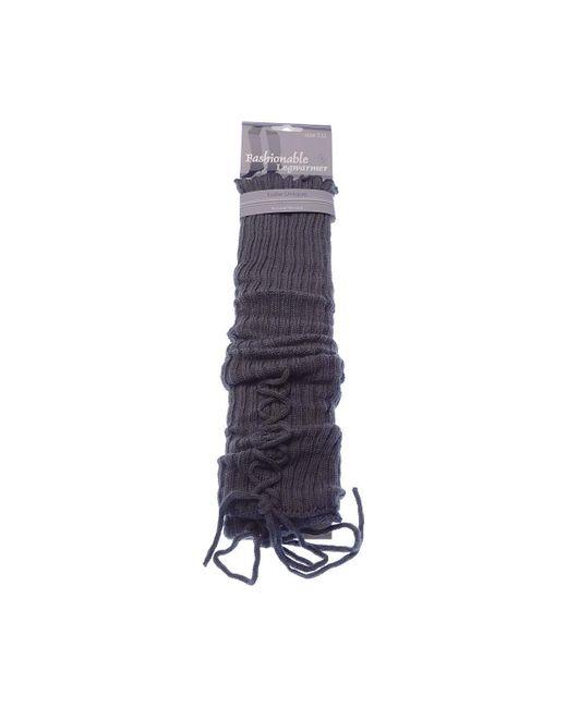 Guêtre - Mode - Lady Legwarmer - Acrylique Collants Intersocks en coloris Gray