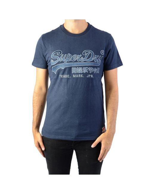 Downhill Racer Applique T-shirt Superdry pour homme en coloris Blue