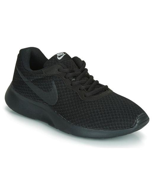 TANJUN W Chaussures Nike en coloris Noir - 2 % de réduction - Lyst