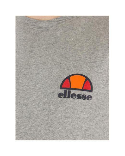 Pour des hommes Sweat à logo poitrine gauche, Gris hommes Sweat-shirt en Gris Ellesse en coloris Gray