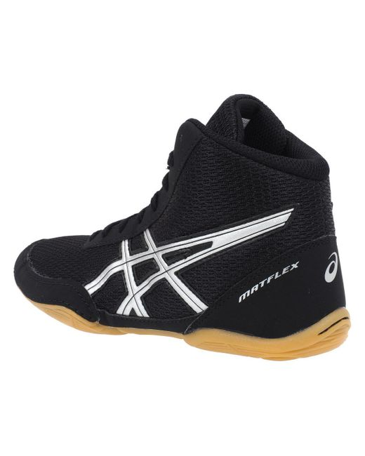 Matflex noir lutte hommes Chaussures en Noir Asics pour homme en ...
