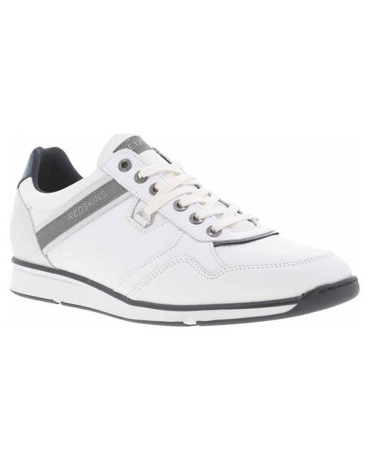 Baskets basses - chaussures Redskins pour homme en coloris White