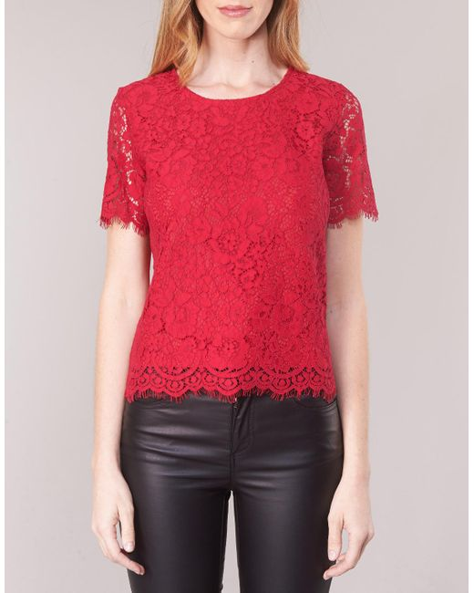 Moony Mood Blouse Kemi in het Red
